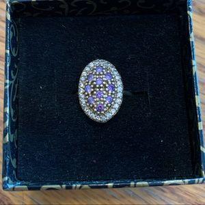 Turkish handmade amethyst ring